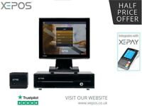 BRAND NEW All in One XEPOS Takeaway System - EPOS Till Fast Food Pizza Indian Chinese Kebab Shop
