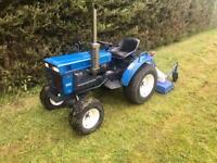 Iseki Compact Tractor with Topper excellent condition