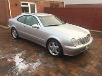Mercedes clk 320 v6 tiptronic automatic excellent condition low mileage full service history