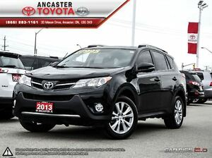 2013 Toyota RAV4 Limited AWD ONLY 30072 KMS!!