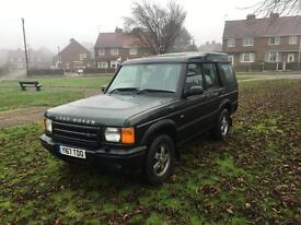 2001 Land Rover discovery td5 7 seater adventurer
