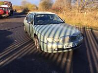 Rover 75- 2.0 DIESEL- Full Leather- Nice Driver- NO MOT- SOLD AS SEEN