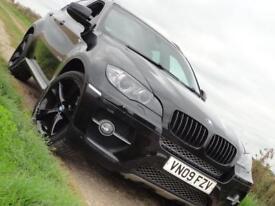 BMW X6 35d metallic black 3.0 twin turbo x drive