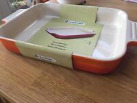 Le creuset rectangular dish