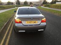 BMW 525i 2007 ONLY 60K MILES MSPORT FULL M5 CONVERSION VERY LOW MILEAGE IMMACULATE !!