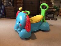 Fisher Price Elephant - stand, walk, bounce