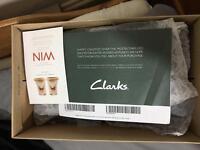 Clarks Latch Dock shoe 8.5 G UK