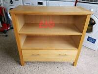 wooden side table free delivery in leicester