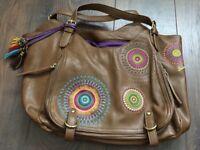 Desigual brown handbag