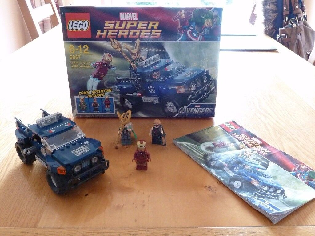 Lego Super Heroes (6867) Loki's Cosmic Cube Escape