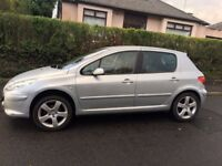 Peugeot 307 1.6 SPORT 5d Full Black Leather Trim