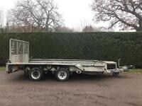 Ifor Williams 3.5 tonne 12ft plant trailer