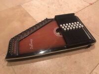 Autoharp Zither Folk Instrument Chorded Auto Harp ACOUSTIC ASHBURY Ex Condition