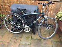 "Men's 19"" ridgeback bike bicycle. FREE lights & mudguards. Delivery & D lock available"