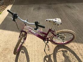 "Raleigh Krush 20"" Wheel Girls Mountain Bike **FREE**"
