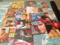 Elvis Presley lots off albums and single vg