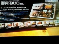 Boss BE-800 Digital Recorder plus DVD Manual