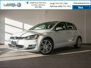 2015 Volkswagen Golf TDI Highline+NAVI+PANOSUNROOF+NEW TIRES N B