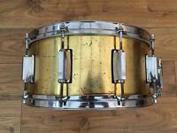 Cannon 14x6.5 Brass Snare Drum for sale or trades