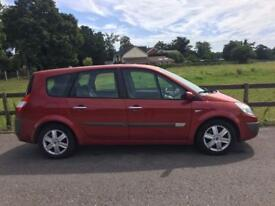 2006 Renault Grand Scenic 1,5 litre diesel 5dr 7 seater 2 owners