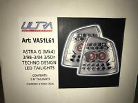 Vauxhall Astra G techno design LED tail lights