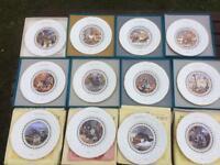 Coalport Fine Bone China decorative collectors wall display plates