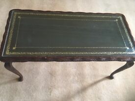 Coffee table and matching small table. £20