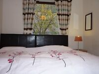 twin or double bedroom for two people short term available