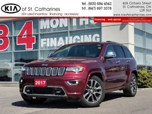 2017 Jeep Grand Cherokee Overland | Panoramic Roof | Navigation