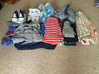 Baby boy clothes aged 3-6 months