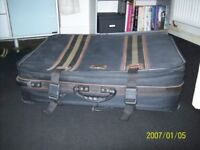 large suitcase in reasonable condition