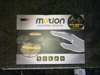 Motion controlled drone