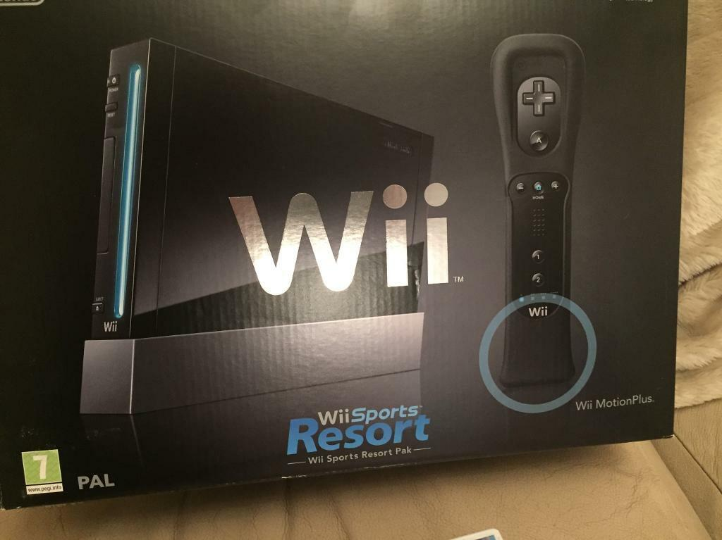 Wii sports resort £50