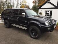 Mitsubishi L200 black with Sport utility ONLY 67k miles