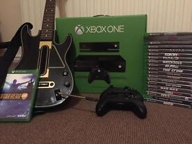 Xbox One 500gb with Kinect & 19 games