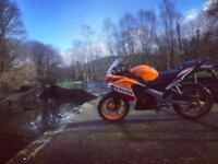 2016 cbr 125 learner legal low mileage datatool may take part ex swop
