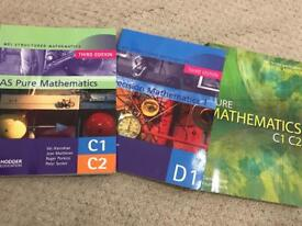 A level text books.