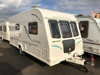 2010 BAILEY OLYMPUS 462 SINGLE AXLE TWO BERTH TOURING CARAVAN