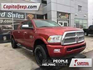 2014 Ram 3500 Longhorn| Mega Cab| Sunroof| Leather| 4X4