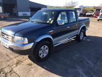 Winter 4wd ford ranger xlt 2.5 turbo diesel double cab pick up truck long mot