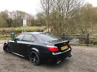 BMW M5 5.0 SMG V10 FULLY LOADED 580BHP UPGRADED EXHAUST MINT CONDITION P/X WELCOME BARGAIN!!