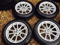 "16"" GENUINE BMW 1 SERIES 2014 ALLOY WHEELS SET OF 4"