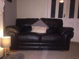 Barker and Stonehouse Brown Sofa