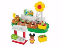 Fisher-Price Little People Farm Garden & Stand Play Set Brand New With Box