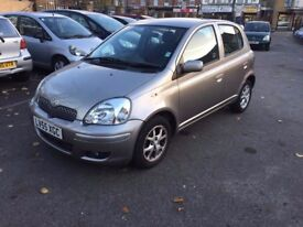 2005 TOYOTA YARIS 1.3 VVT-I COLOUR COLLECTION 5 DOOR HATCHBACK MANUAL
