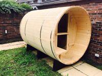6 person cedar sauna brand new RRP £3995