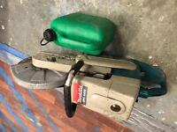 "Makita dpc6400 petrol saw 12"" 300mm grinder cut quick"