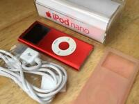 Apple iPod Nano 2nd Gen 4gb - Red Good Condition