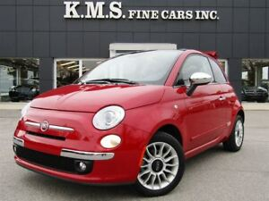 2014 Fiat 500C Lounge  CONVERTABLE  CLEAN CAPROOF