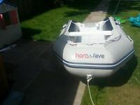 Honwave inflatable with yamaha outboard